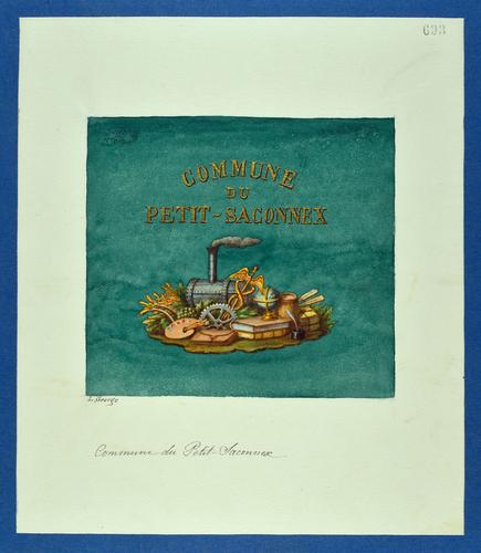 Drapeau genevois, commune du Petit-Saconnex
