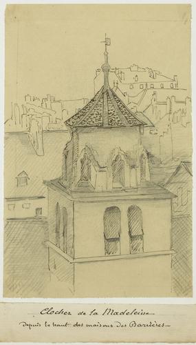 Genève, Madeleine: clocher du temple