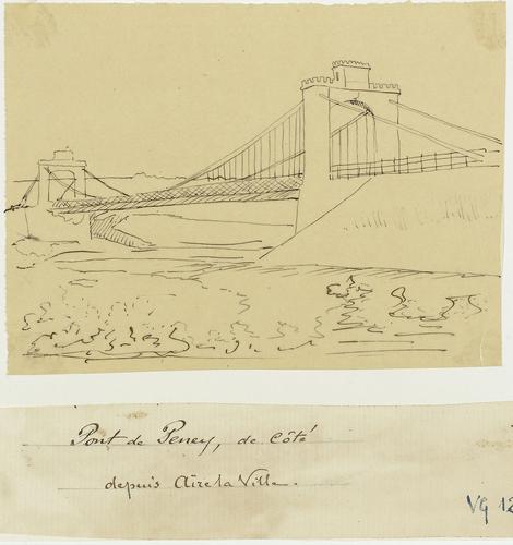 Aire-la-Ville: pont de Peney