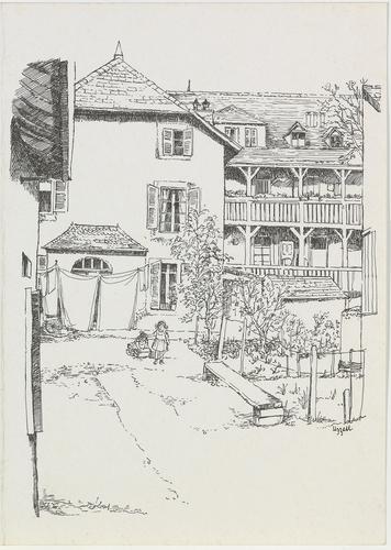 Carouge, près de la maison du Comte de Veyrier