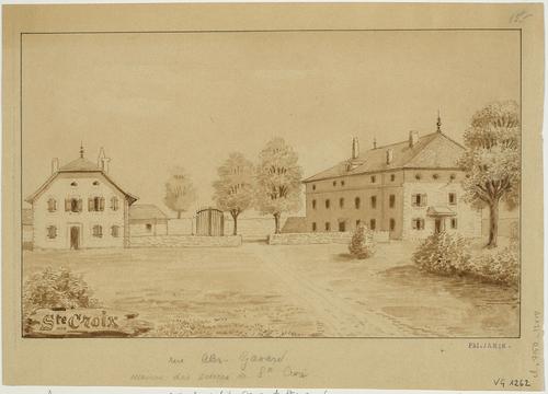 Carouge, rue Gavard: la maison des soeurs de Sainte-Croix (ou des Pauvres)