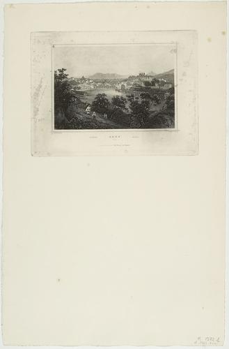 Genève, vue de Saint-Jean