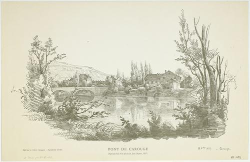 Carouge, pont (27 octobre 1837)