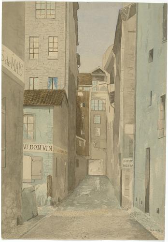 Genève, rue de la Tour-Maîtresse