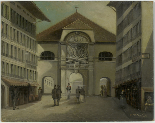 Genève, porte de Rive