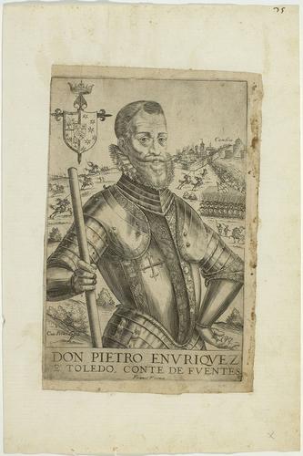 Genève, l'Escalade, portrait de Don Pietro Enriquez