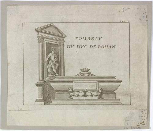 Genève, cathédrale Saint-Pierre: tombeau du duc de Rohan