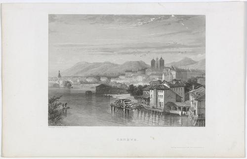 Genève, moulins de la Coulouvrenière