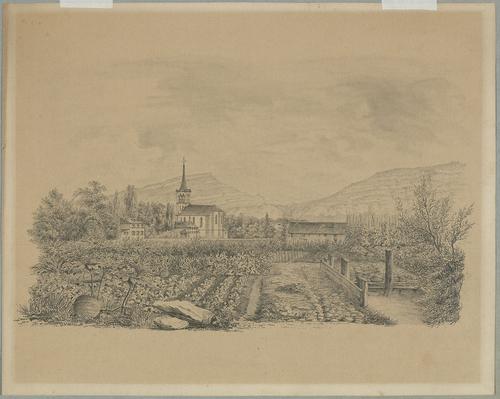 Genève, temple de Plainpalais