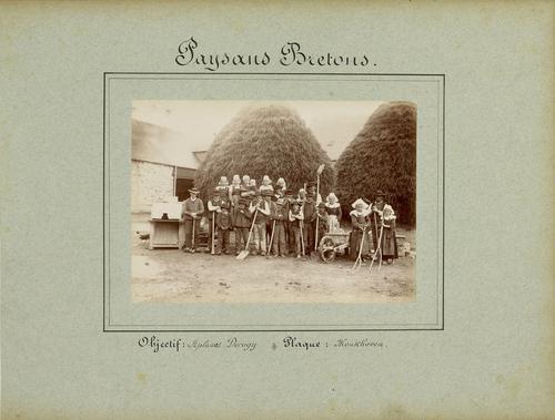 Bretagne, paysans