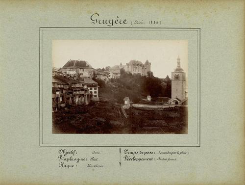 Gruyères, village