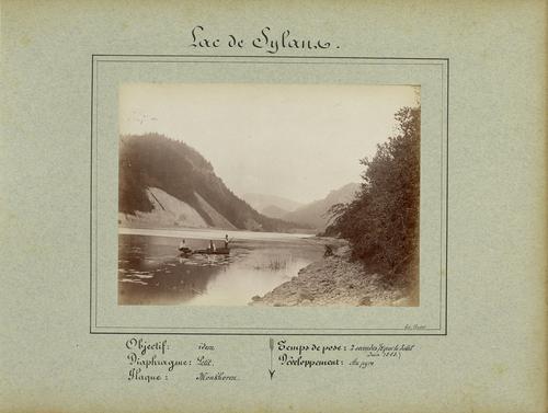 Ain, lac de Sylans