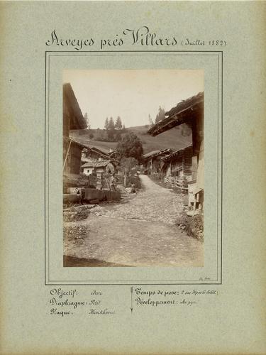 Vaud, le village d'Arveyes