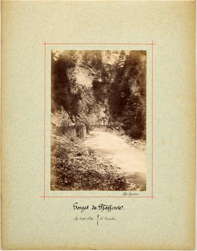Saint-Gall, les gorges de Pfäfers