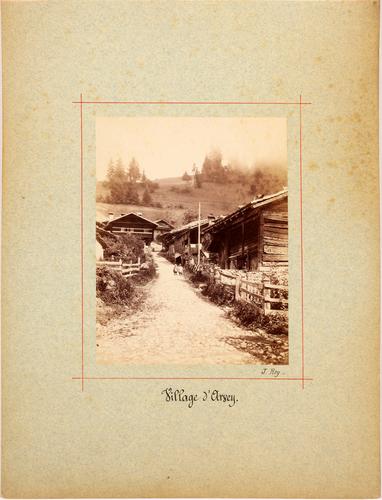 Arveye, vue du village
