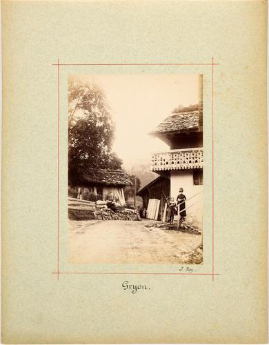 Gryon, une maison du village