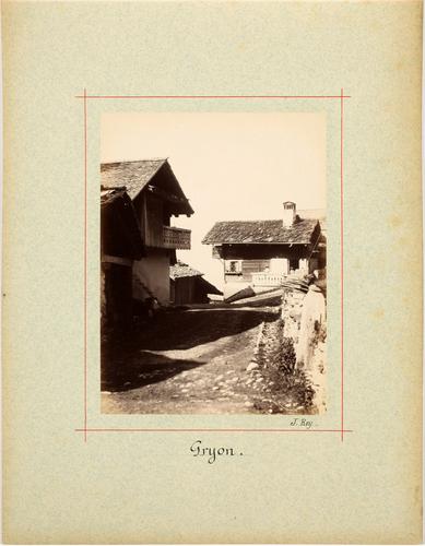Gryon, rue du village