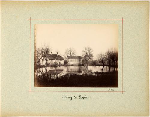 Veyrier, l'étang des Bossons