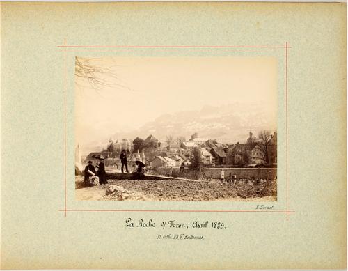 Haute-Savoie, la Roche-sur-Foron: vue du village
