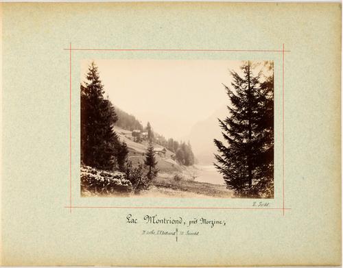 Montriond, vue sur le lac