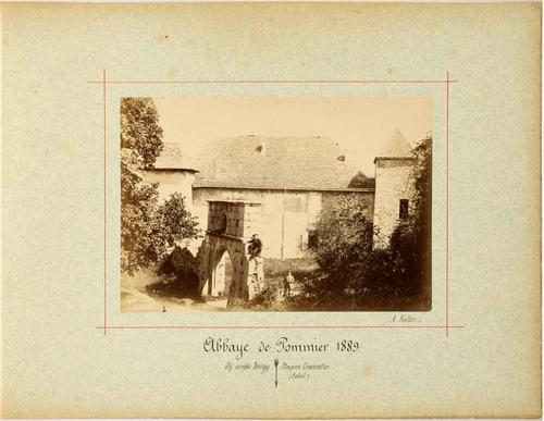 Haute-Savaoie, Pomier: abbaye