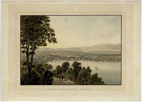 Genève, vue de Cologny