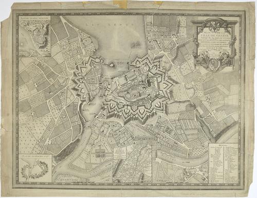 """""""Plan de la Ville de Genève"""""""