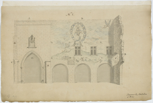 Genève, couvent de Rive: place des prédications