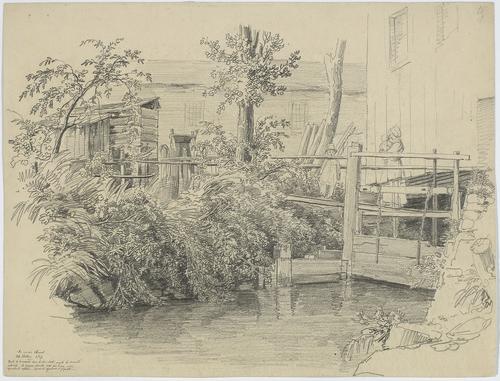 Genève, au moulin Chenal