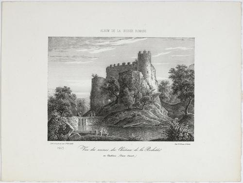 Haute-Savoie, Lully: château de la Rochette