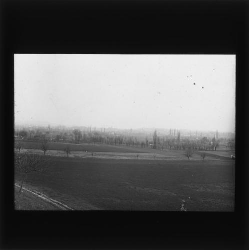 Canton de Genève, région de Plan-les-Ouates vue du contour d'Arare