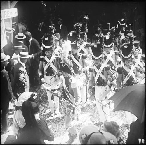 Genève, fêtes du Centenaire: rappel à la fin de l'entracte