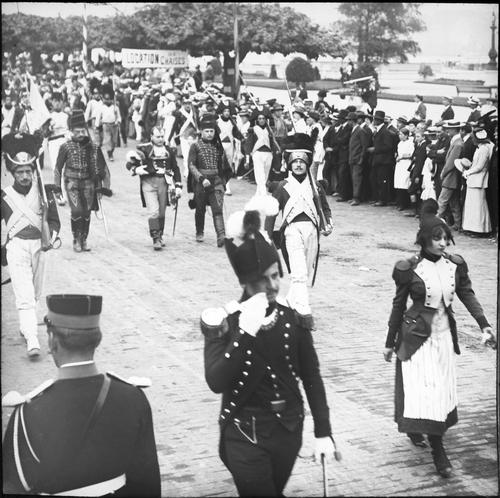 Genève, fêtes du Centenaire: cortège de clôture (Napoléon premier)