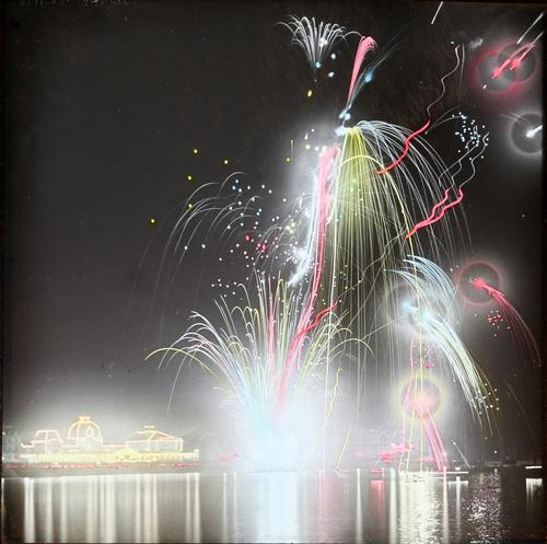 Genève, fêtes du Centenaire: fête de nuit