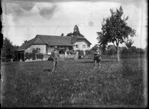 Vernier, route de Vernier: propriété proche du pont de l'Ecu