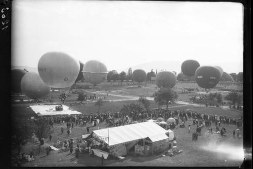 Vernier, Châtelaine: semaine aéronautique de Genève (coupe Gordon Bennett)