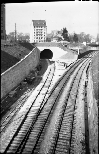 Genève, Saint-Jean: voies ferrées