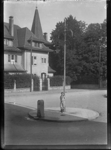 Genève, place Reverdin