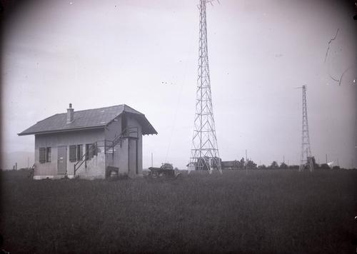 Meyrin, le bâtiment de Radio Cointrin