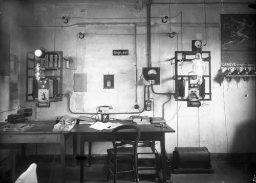Meyrin, l'émetteur radio de Cointrin