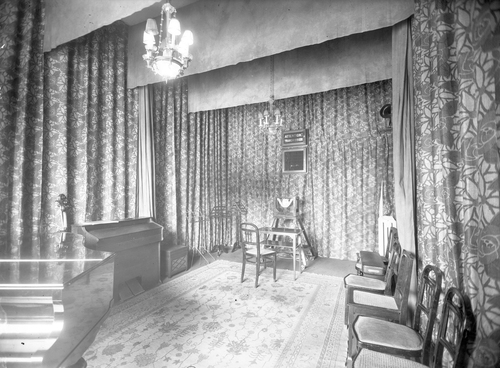 Genève, rue du Rhône: hôtel Métropole (premiers studios de Radio-Genève)
