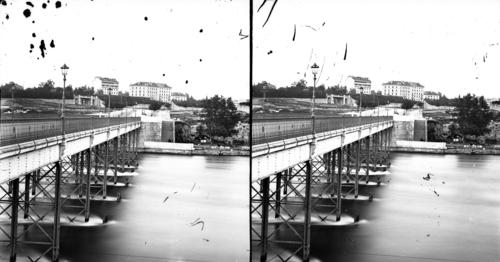 Genève, pont de la Coulouvrenière