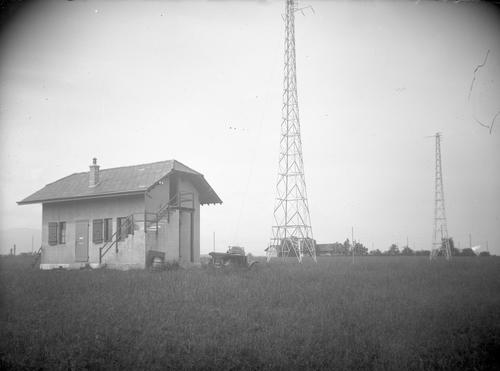 L'émetteur de radio de Genève-Cointrin