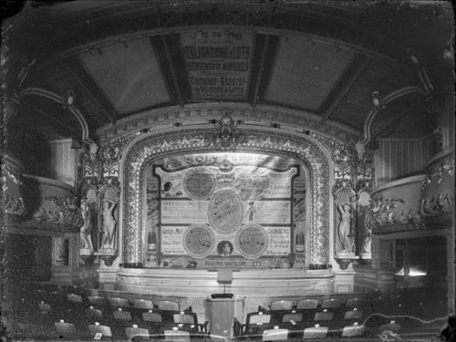 Genève, rue de Carouge: Casino-Théâtre, salle de spectacle