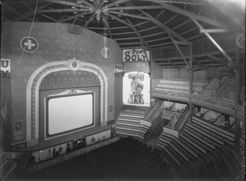 Genève, place du Cirque: vue intérieur de l'Apollo-Théâtre