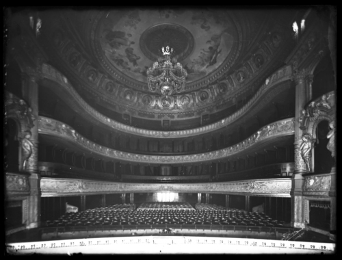 Genève, place de Neuve: Grand Théâtre (salle)