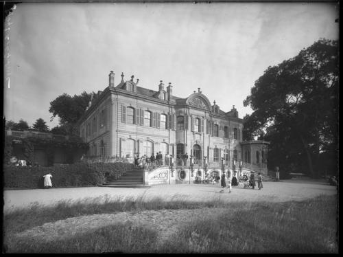 Genève, parc la Grange: villa