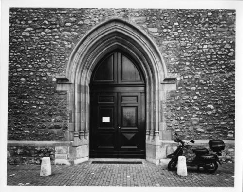 Genève, église Saint-Germain: porte principale