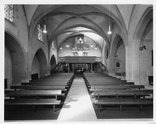 Genève, église Saint-Germain: intérieur