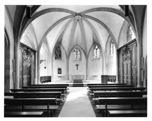 Genève, église Saint-Germain: choeur